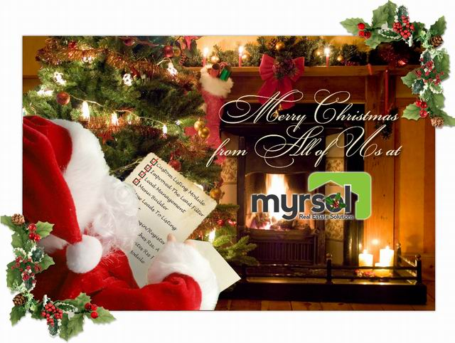 Merry Christmas From Myrsol
